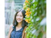 #杭电明媚女生#她叫笑笑,夏晨笑,一个热爱摄影的女生。